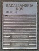Bacallaneria ROS
