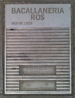 Bacallaneria ROS