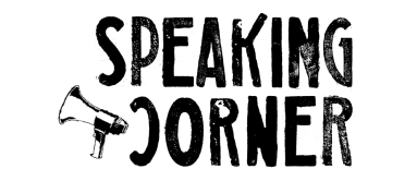logo speaking corner