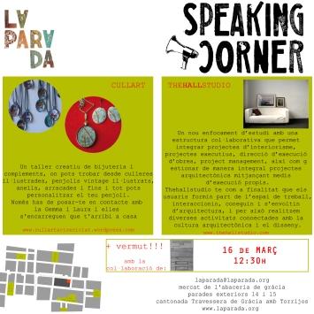 speaking 16  març