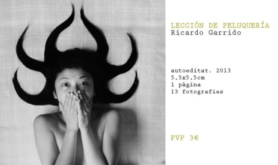 Lección de peluquería Ricardo Garrido