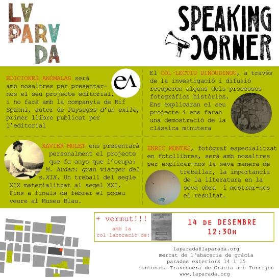 Speaking Corner 14 desembre