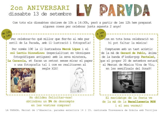 2on aniversari de La Parada
