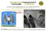 flyer inauguració kati riquelme i my casitas painting