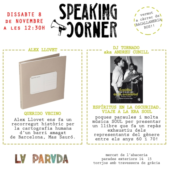 speaking corner la parada 8 novembre 2014