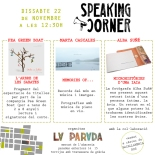speaking Corner la parada 22 novembre 2014