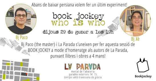 FLYER BOOK JOCKEY LA PARADA