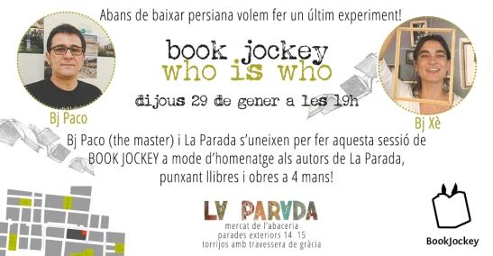 FLYER BOOK JOCKEY LA PARADA
